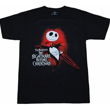 Nightmare Before Christmas Jack Dark Love T-Shirt