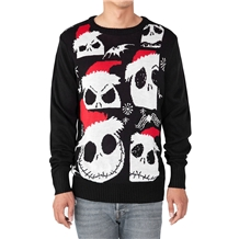 Nightmare Before Christmas Jack Ugly Christmas Sweater New