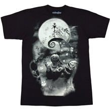 Nightmare Before Christmas Smokey Scene T-Shirt