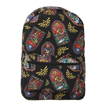Nintendo Zelda Stained Glass All Over Backpack