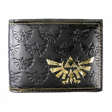 Nintendo Zelda All Over Emboss Bi-Fold Wallet