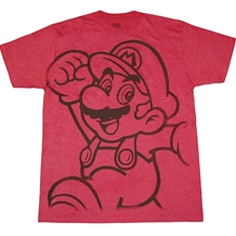 Nintendo Mario Outline T-Shirt