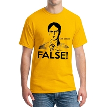 the office dwight false t-shirt