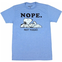 Peanuts Snoopy Nope Not Today T-Shirt