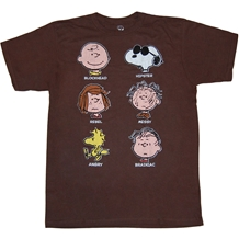 Peanuts Faces T-Shirt