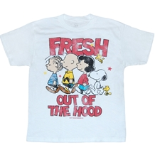 Peanuts Fresh Out Of The Hood Youth T-Shirt
