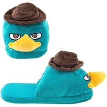 Agent Perry Plush Slippers
