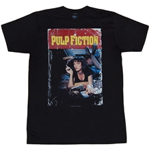 Pulp Fiction Mia Movie Poster T-Shirt