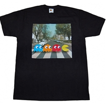 Pac-Man Abbey Road Crossing T-Shirt
