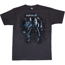 Portal 2 Atlas and Peabody T-Shirt