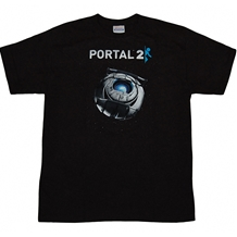 Portal 2 Wheatley In Space T-Shirt
