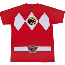 Mighty Morphin Power Rangers Red Ranger Costume T-Shirt