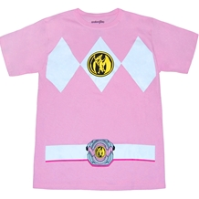Mighty Morphin Power Rangers Pink Ranger Costume T-Shirt