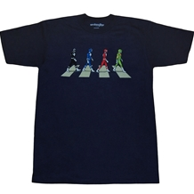 Power Rangers Abbey Road T-Shirt