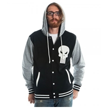 Punisher Letterman Hoodie