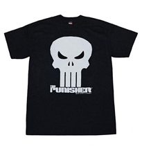 Punisher Crystalized Logo Adult T-Shirt