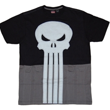 Punisher Cut & Sew Uniform Costume T-Shirt