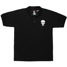 Punisher Skull Symbol Polo Shirt