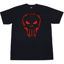Punisher Red Logo T-Shirt