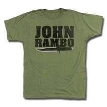 John Rambo Knife T-Shirt