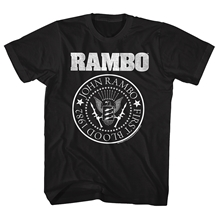 First Blood Rambo 1982 Seal T-Shirt