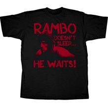 Rambo He Waits T-Shirt