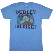 Dudley Do-Right Adult T-Shirt