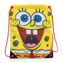Spongebob Big Face Drawstring Cinch Bag