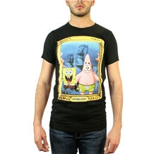 Spongebob and Patrick Portrait T-Shirt