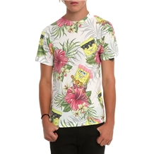 Spongebob SquarePants Tropical Sublimation T-Shirt