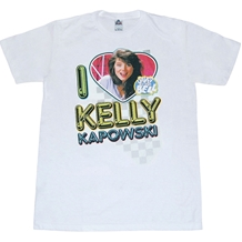 Saved By The Bell I Luv Kelly Kapowski T-Shirt