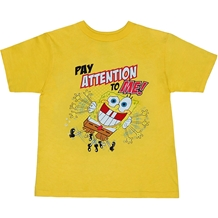 Spongebob Pay Attention To Me Toddler T-Shirt
