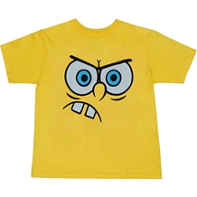 Angry Spongebob Face Toddler T-Shirt