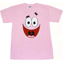 Patrick Star Face T-Shirt