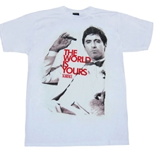 Scarface The World Is Yours T-Shirt