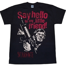 Scarface Say Hello To My Little Friend T-Shirt