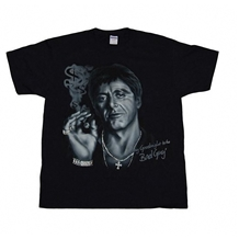 Scarface Say Good Night Adult T-Shirt