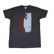 Scarface Distressed Movie Poster T-Shirt
