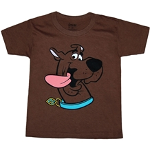 Scooby Doo Face Youth T-Shirt