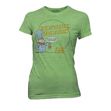 School House Rock Conjuction Junction Junior Tee
