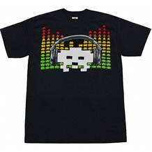 Space Invaders Alien Equalizer T-Shirt