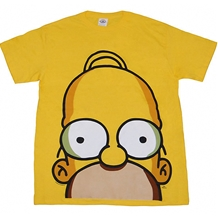 Simpsons Homer Huge Face T-Shirt