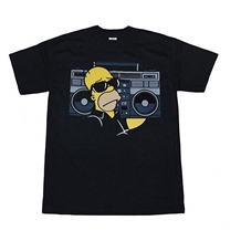 Homer Boom Box T-Shirt