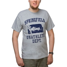 The Simpsons Springfield Unathletic Department T-shirt