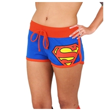 Superman Booty Shorts