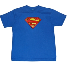 Superman Traditional Logo Kid's T-Shirt