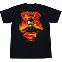 Superman On Fire T-Shirt