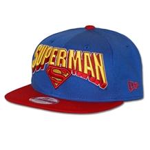 New Era Hero Block Superman Logo 9Fifty Snapback Hat 83f57382d16f