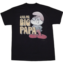 Smurfs Call Me Big Papa T-Shirt