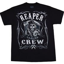 Sons of Anarchy Reaper Crew Scroll T-Shirt